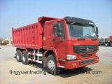 6× アフリカのための4 HOWOのダンプトラック