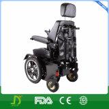 신체 장애자를 위한 힘 휠체어 높은 쪽으로 새로운 입상