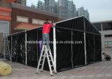 6X9m Used Black RTE-T van pvc voor VIP Meeting Room