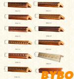 Module de cuisine rouge de bâti en bois solide de cerise de type américain de Bck