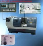 Tornio del metallo di hobby del tornio Cjk6150b-2/1250mm di CNC
