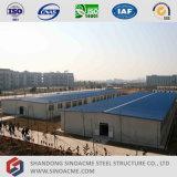 軽い鉄骨構造の倉庫の構築
