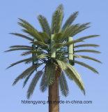 Tour artificielle de télécommunications d'arbre de tube en acier