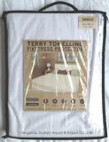 Waterdichte Terry Towelling Mattress Protector, de TPU Gelamineerde Stof van Terry