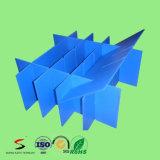 Rectángulos acanalados plásticos