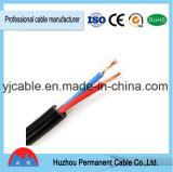 câble d'alimentation en caoutchouc de 450/750V H07rn-F 3G2.5 taux de pression moteur