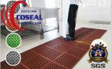 Estera de goma antirresbaladiza para el taller al aire libre del barco de la cubierta del patio