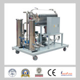 Tecnología de separación por vacío Máquinas portátiles de filtrado de aceite, purificador de aceite de turbina Emulsificación