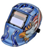 Het blauwe Masker van het Lassen van de Kleur auto-Verdonkert met Verklaard Ce van de Adelaar