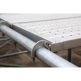 Paréntesis horizontal de Ringlock del andamio de alta resistencia de la construcción