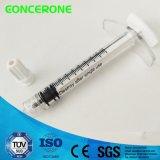 Siringa cosmetica precompilata a gettare 1-10ml per acido ialuronico (plastica)