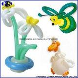 Celebración de días festivos larga mágica de los globos 260# que tuerce los globos del látex, alta calidad