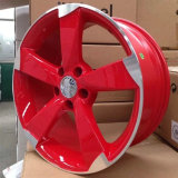 Beautiful Red Part Polishing pour Audi Replica Alloy Wheel