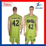 Uniforme fait sur commande de basket-ball du Jersey de basket-ball d'impression