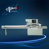Fabricante automático de alta velocidad de la empaquetadora del flujo de la toalla
