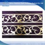 Corte por láser de chapas de acero inoxidable para la decoración