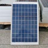 el panel solar polivinílico de 18V 25W para el sistema 12V (2017)