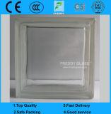 O vidro modelado Block/Brick Glass/Transparent/Colored Smooth/Sand colorido/de Blue/Red/Green/Clear paralela soprou o vidro Block/Blick