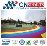 Het multi Gras van het Gras Artificail van het Voetbal/van de Voetbal van de Kleur Professionele Synthetische