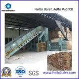 Prensa horizontal de la máquina de la prensa hidráulica de China para el papel usado, cartulina, plástico