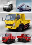 Sinotruk Cdw 737 화물 자동차 트럭 4X2 소형 덤프 트럭
