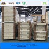 El panel rápido y fácil de la ISO del SGS de la construcción 180m m de la PU de emparedado