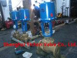 高圧および高温蒸気の電気制御弁