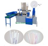 Plastiklöffel-Stroh, das Maschine herstellt