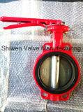 De Vleugelklep van de rode Kleur Voor de Bescherming van de Brand met ISO- Certificaat