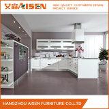 Gabinetes de cozinha modernos do PVC do projeto pequeno americano da cozinha
