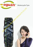 500-12の耐久力のある頑丈なオートバイのタイヤ