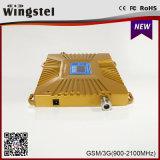Neues Entwurfs-Gold plus GSM/WCDMA 900 Verstärker des Signal-2100MHz für Handy
