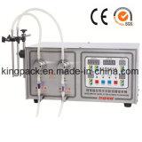 Hete Verkopende Nieuwe het Vullen van het Volume van de Stijl Kleine Dubbele Hoofd Vloeibare Machine 10ml