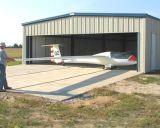 Taller prefabricado del hangar de la estructura de acero