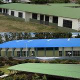 Hoggeryは中国でUPVCの波様式の屋根ふきシートを使用した