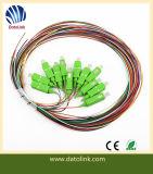 стекловолокно Pigtail 9/125um Sc/APC