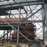 화학 사용법을%s 3층 무거운 강철 구조물 작업장