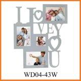 Рамка фотоего высокого качества деревянная (WD04-43W)