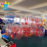 Finego TPU Belüftung-aufblasbare Spielwaren-verworrene Luftblase Bocce Kugel-Karosserien-Anschlagpuffer-Kugel