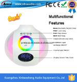 Lámpara de escritorio de múltiples funciones del altavoz de Bluetooth del sensor del tacto con la luz caliente/fría/colorida
