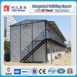 Casa impermeable e incombustible de la casa prefabricada del trabajo del estándar