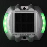 Lumière souterraine de goujon solaire en fer à cheval de route