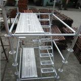 Impalcatura galvanizzata d'acciaio di Ringlock del TUFFO caldo Q235
