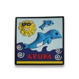Aimants personnalisés Aruba (RC-AA) de réfrigérateur de PVC des cadeaux 3D de promotion de souvenir