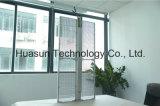 (Transport-Yeux) Afficheur LED transparent visuel de verre du mur HD de DEL pour la publicité