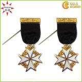 Medaglia di rame dell'ufficiale militare del metallo di alta qualità