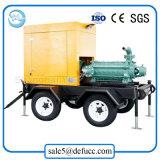 Bomba de agua gradual montada acoplado del motor diesel con el equipo de la irrigación