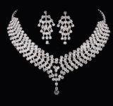 Nueva joyería determinada de la manera del collar y del pendiente de la boda de la manera del diseño