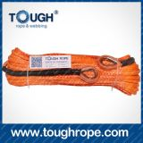 Elektrisches Winch 5 Ton Dyneema Synthetic 4X4 Winch Rope mit Hook Thimble Sleeve Packed als Full Set