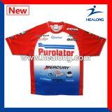 Healong Customize Sublimation Fishing Shirts Dri Fit Fishing Wear